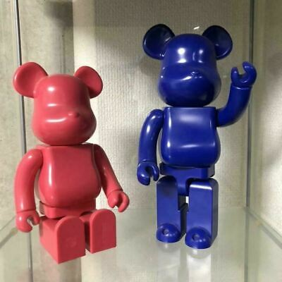 $370 • Buy ​Be@rbrick Comme Des Garcons Jingle Flowers Blue & Pink 400% Lot Of 2 Bearbrick