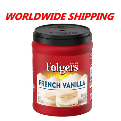 £9.21 • Buy Folgers French Vanilla Flavored Ground Coffee 11.5 Oz WORLDWIDE SHIPPING