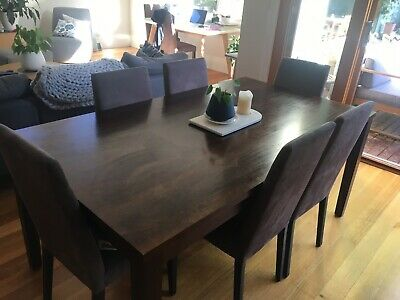 AU220 • Buy Freedom Furniture Dining Table And 8 Chairs