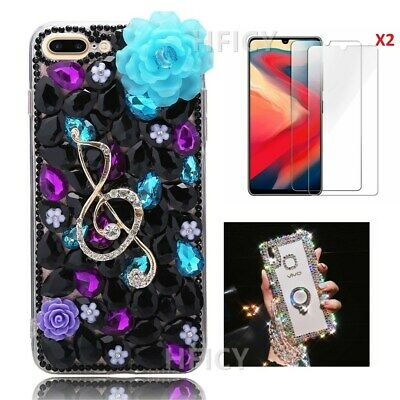 £11.98 • Buy 3D Women Girly Bling Diamonds Luxury Soft Phone Cases Protective Cover & Strap D