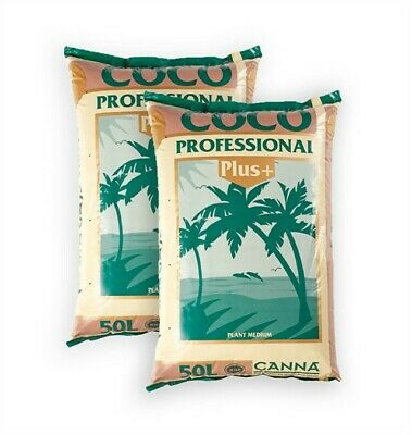 £35.68 • Buy 2 X Canna Coco Professional Plus 50L Bags Growing Medium  *FREE DELIVERY