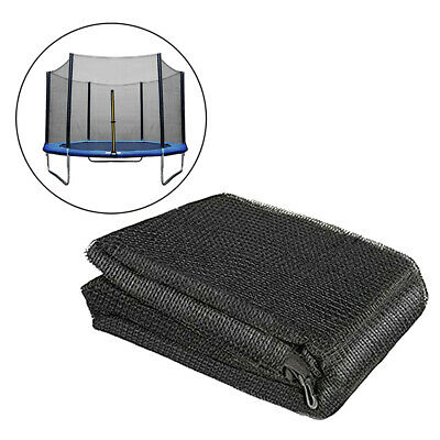 £84.09 • Buy 16' Trampoline Safety Net Durable 12 Pole Round Trampolines Bounce Bed Enclosure