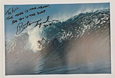 AU99 • Buy Barton Lynch Signed Surf Photo With Certificate # WHOLESALE LOT #