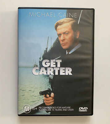 Get Carter (DVD) Region 4 Michael Caine Mike Hodges 1971 Rare Like New! • 12.17£