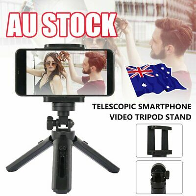 AU11.99 • Buy Universal Mobile Phone Tripod Stand Mount Holder Video Live Self-Timer For IPhon