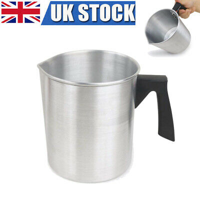 3L Candle Making Cup Dripless Pouring Spout Heat-Resisting Wax Melting Pot • 18.99£