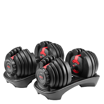 $ CDN899.99 • Buy Bowflex SelectTech 552 Adjustable Dumbbells (Pair) New Free Same Day Shipping
