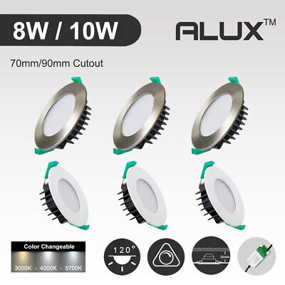 £7.70 • Buy LED Downlights Dimmable Color Changeable Ceiling Round Spot Lights 240V Bathroom