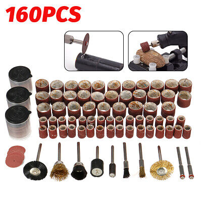 160Pcs Wood Engraving Electric Rotary Tool For Dremel Grinding Polish Cutting ☆ • 6.88£