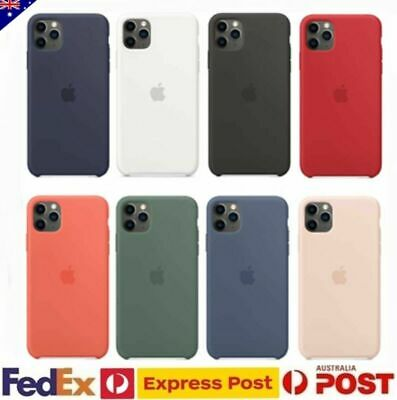 AU11.85 • Buy For Apple IPhone 12 Pro XS Max X XR 7 8 Plus Back Case Shockproof Silicone Cover