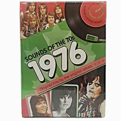 £43.06 • Buy Sounds Of The 70s 1976 3 CD Booklet SEALED Readers Digest Seventies ABBA Dragon