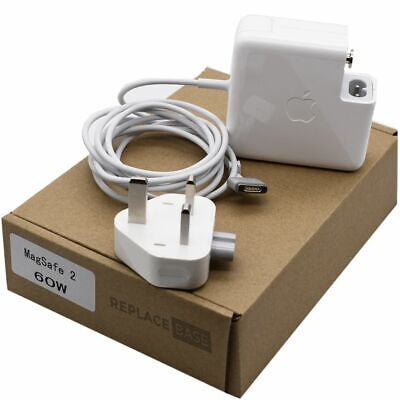 £39.60 • Buy Genuine Apple 60W MagSafe 2 Charger Travel Plug Power Adapter A1435 Original UK