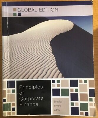 £10 • Buy Principles Of Corporate Finance (Global Edition)