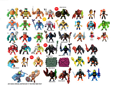 $27.95 • Buy CHOOSE A SET OF TWO FIGS + FREE SHIPPING! Masters Of The Universe Eternia Minis