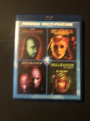 Hellraiser Series Multi-feature Blu Ray Miramax 4 Films • 13.97£