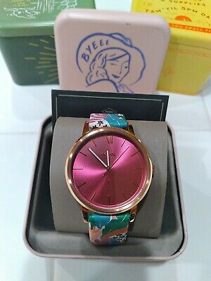 $ CDN87.47 • Buy New Fossil Cambry Multi Color Leather Strap Women's Watch BQ3626
