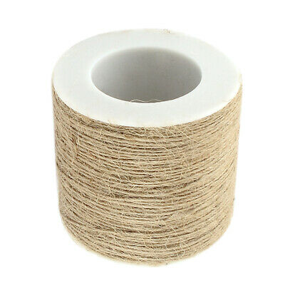 100m Jute Twine Rope String Cord For Jewelry Making,Art Crafts,Wedding Decor • 4.83£