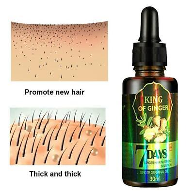 AU6.16 • Buy 30Ml 7Day Ginger Germinal Hair Growth Serum Hairdressing Oil Loss Treatement New
