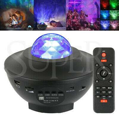 AU34.99 • Buy LED Galaxy Starry Projector Night Light Ocean Star Sky Party Baby Kids Room Lamp