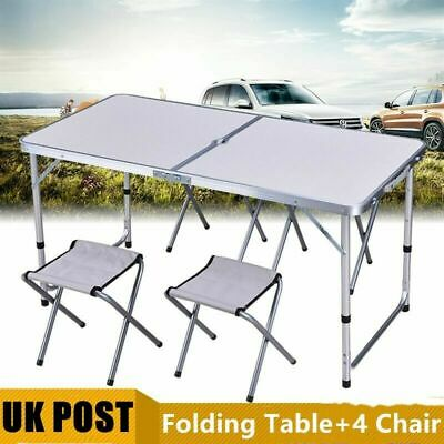 Small Portable Fold Away Up Camping Picnic Table Kitchen Outdoor Garden Dining • 20.59£