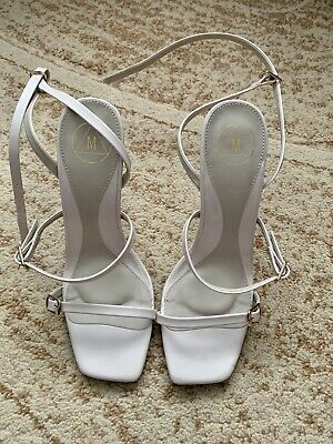 £10 • Buy Missguided Square Toe Sandal Shoes Size 4