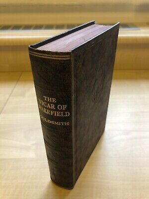 THE VICAR OF WAKEFIELD By Oliver Goldsmith- Faux Leather Hardback - Odhams Press • 9.98£