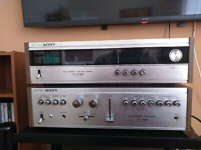 £199 • Buy Sony ST-5066 Tuner & Sony TA-1066 Amplifier. Vintage Stereo System In VGC