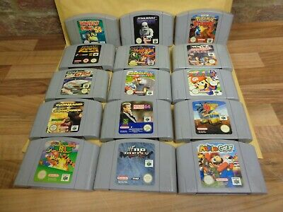 N64 Games (cart Only) • 34.99£