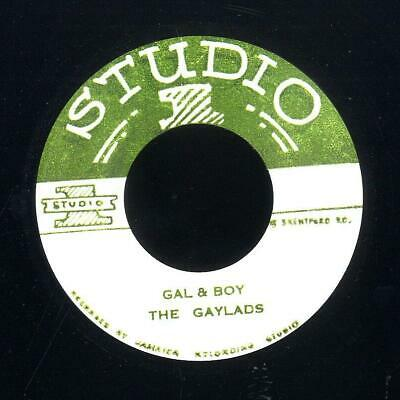 £15.58 • Buy The Gaylads - Gal & Boy / Roland Alphonso - 20-75 - 7  RE
