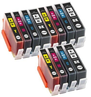 CHIPPED HP 364XL INK Fits For PhotoSmart 5520 5510 5515 6520 7510 B110a 6510 LOT • 7.50£