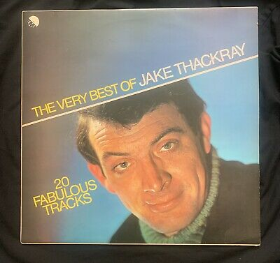 £5.99 • Buy THE VERY BEST OF JAKE THACKRAY. 20 Fabulous Tracks. Vinyl LP 33rpm Record