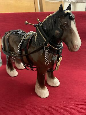 Beswick SHIRE HORSE Mn.818. With Harness.  • 45£