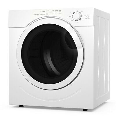 View Details 3.21 Cu. Ft. Electric Tumble Compact Laundry Dryer Stainless Steel For Home Dorm • 349.79$