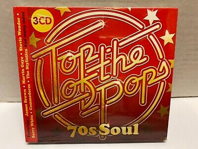Top Of The Pops 70's Soul - 3 Cd - New & Sealed Cd - Excellent • 5.95£