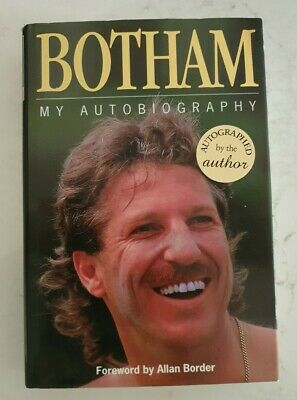 AU85 • Buy Rare Sir Ian Botham Signed In Person Autobiography Hard Cover Book