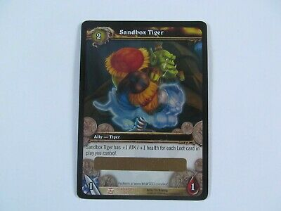 £8.50 • Buy Sandbox Tiger Unscratched Loot Card World Of Warcraft WOW TCG