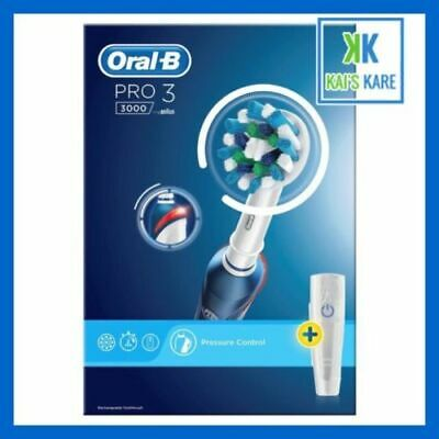 AU131.72 • Buy Braun Oral-B PRO 3 3000 Cross Action Electric Rechargeable Toothbrush - FAST P&P