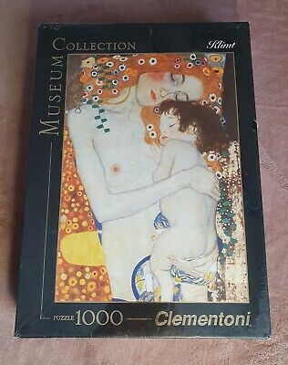 $ CDN70.50 • Buy Puzzle 1000, Clementoni, The Three Ages Of Woman, Klimt