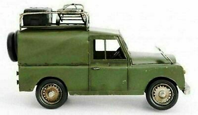 Land Rover Expedition Vehicle Ornament Metal Tin Large Model • 29.99£