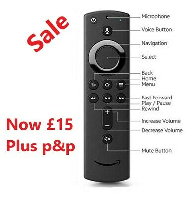 [Genuine] Replacement Amazon Fire TV Remote Control 🔥 £15 🔥🔥🔥 Remote Only • 15£