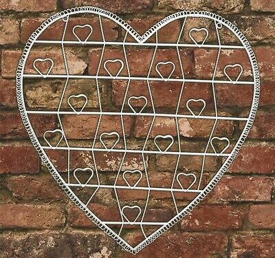 £7.50 • Buy Vintage Cream Hanging Heart Memo Photo Holder  **COLLECT ONLY**