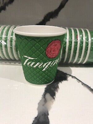 37 X Tanqueray Premium Gin Paper Cups (New) • 9.99£