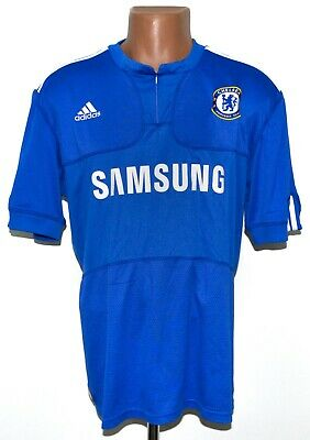 Chelsea London 2009/2010 Home Football Shirt Jersey Adidas Size Xl Adult • 22.99£