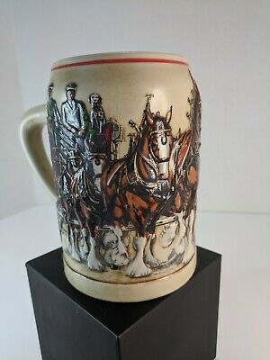 $ CDN31.12 • Buy Set Of TWO World Famous Budweiser Clydesdales Stein: Anheuser-Busch, Inc