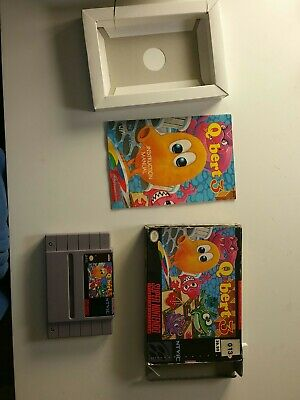 $ CDN90 • Buy Qbert 3 - Box, Manual, Game CIB Snes