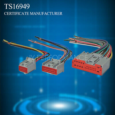 $12.99 • Buy Car Stereo Radio Wiring Harness Plugs To Factory Radio For Ford Lincoln Mercury