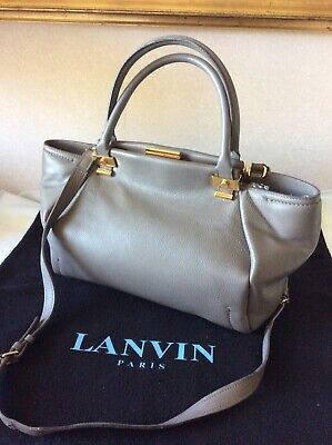 Lanvin Bag    Genuine Grey Trilogy Tote Bag - • 279£