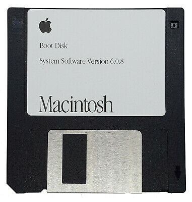 $12.95 • Buy Apple Macintosh System 6.0.8 800k Boot Disk For Floppy-Only Classic Macs