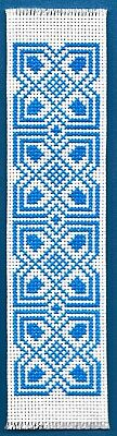 £6.45 • Buy Blue Bookmark - Counted Cross Stitch Kit