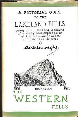 A Pictorial Guide To The Lakeland Fells Book Seven The Western Fells, A Wainwrig • 5.21£